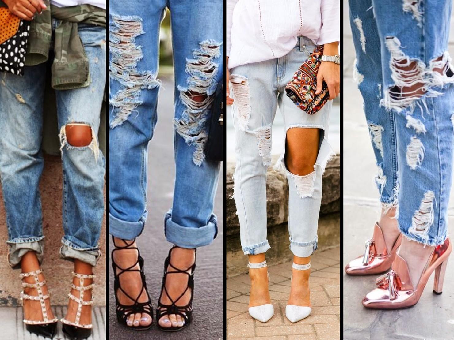 Как сделать джинсы красивыми