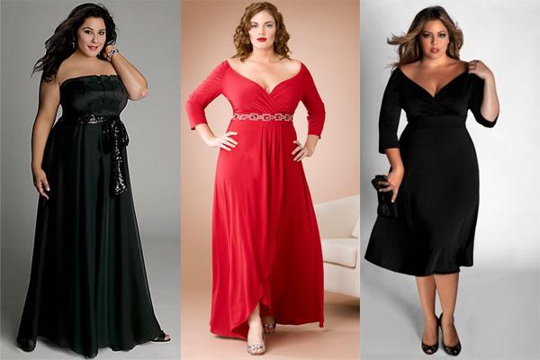 Платья для полных и стильных девушек. Какое платье подобрать полным девушкам?