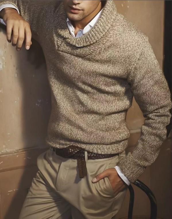 джинсы в одном цвете со свитером