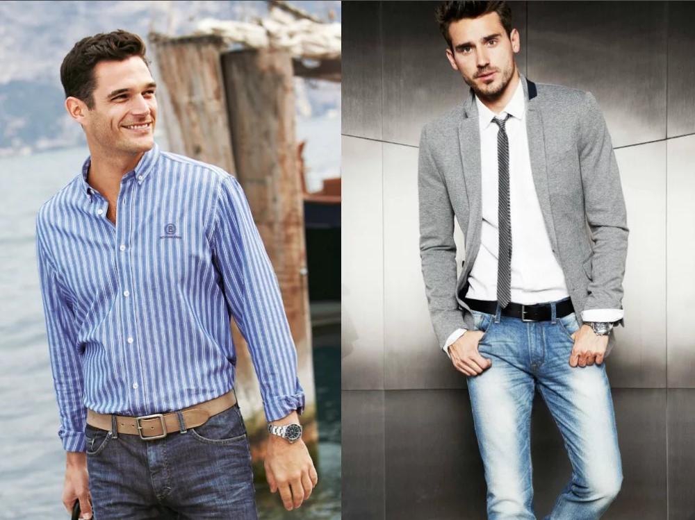 джинсы мужские и аксессуары