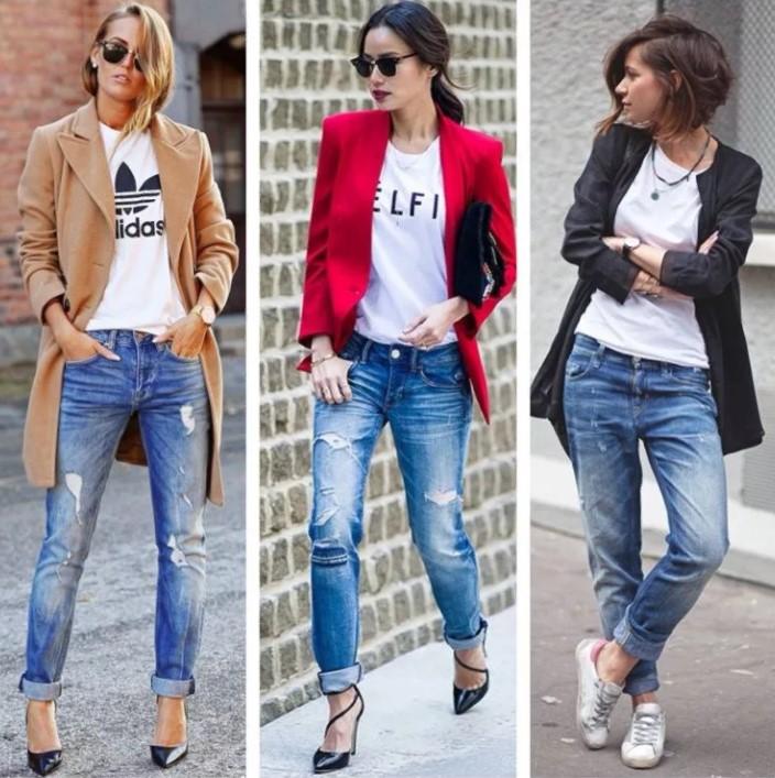джинсы рваные шин