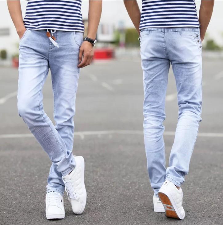 светлые джинсы мужские