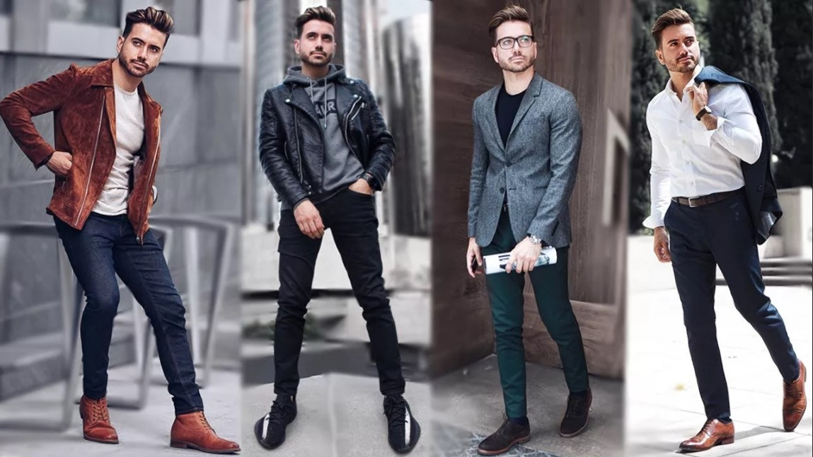 джинсы с куртками
