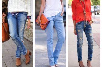 Прямые джинсы: с чем носить