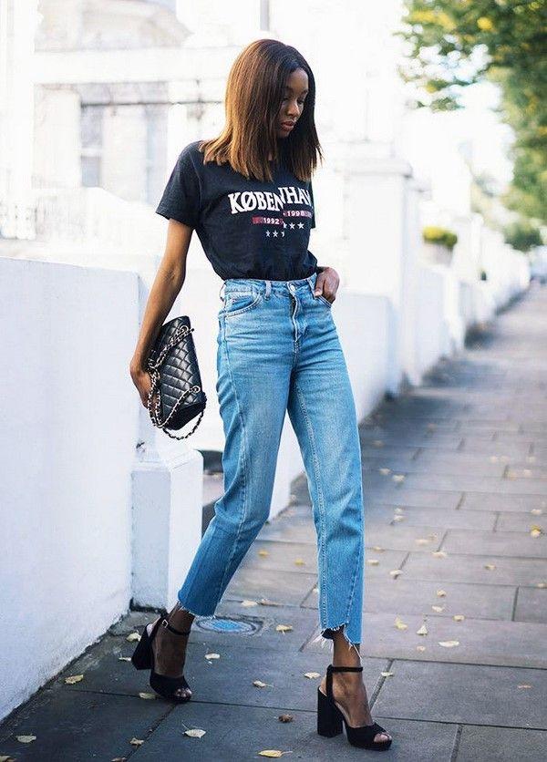 джинсы straight fit