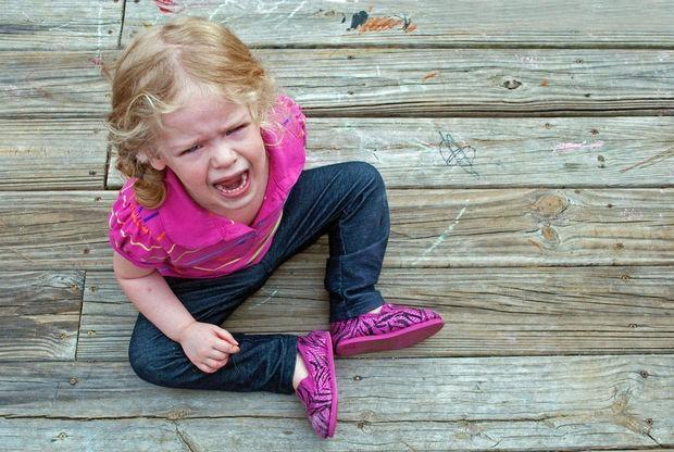 Что делать, если ребёнок истерит?