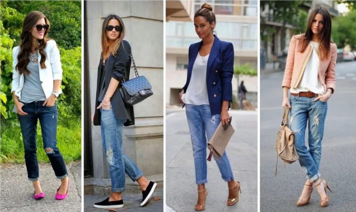 джинсы свободные