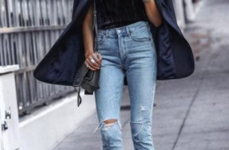 Как носить тренд - рваные джинсы