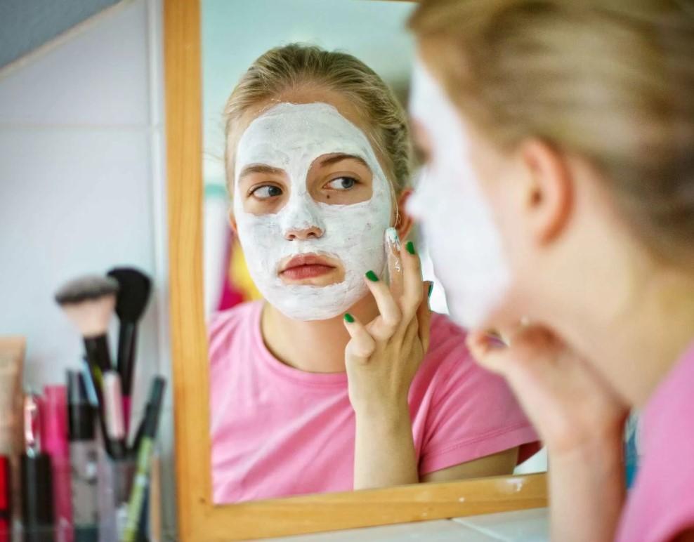 кефирная маска для подростков