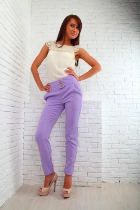 розовые джинсы 5