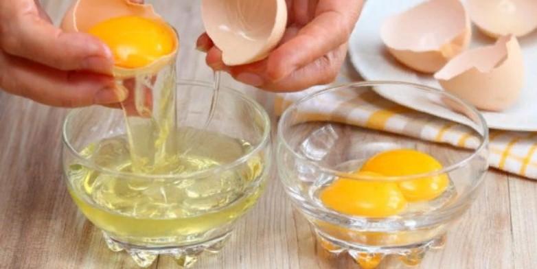 желтки яйца