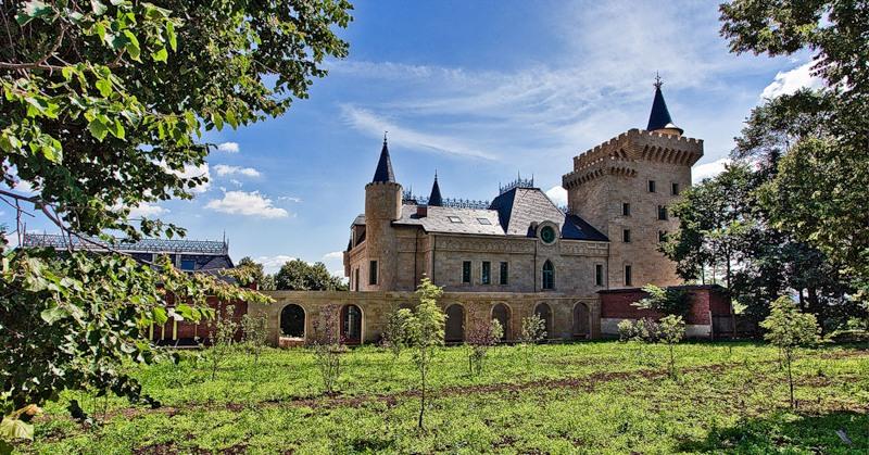замок галкина