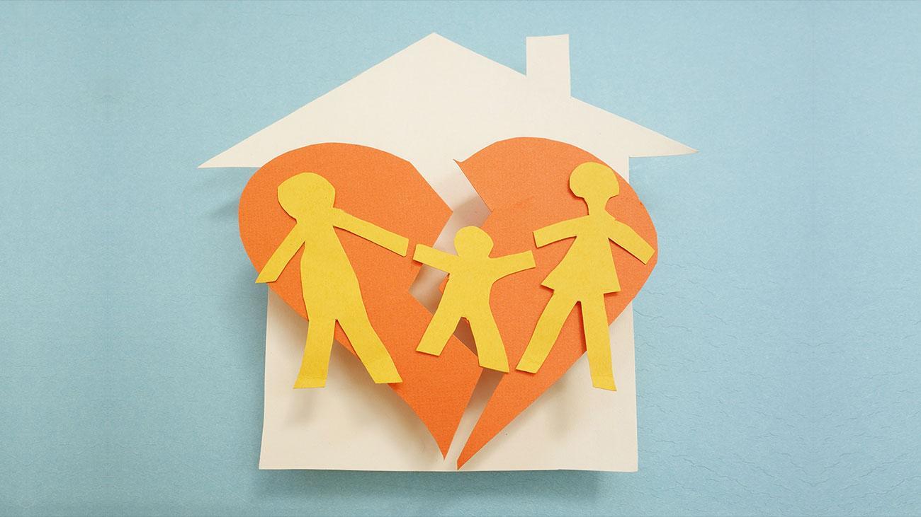 Как сказать ребёнку о разводе