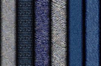Разновидности джинсовой ткани.