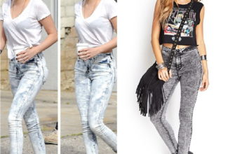 С чем носить джинсы-варёнки