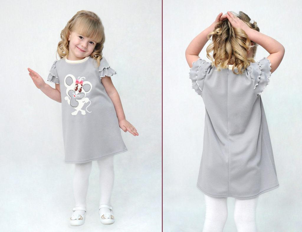 Фасоны детских платьев повседневное