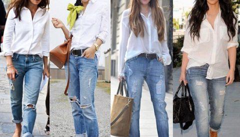 Как заправить рубашку в джинсы