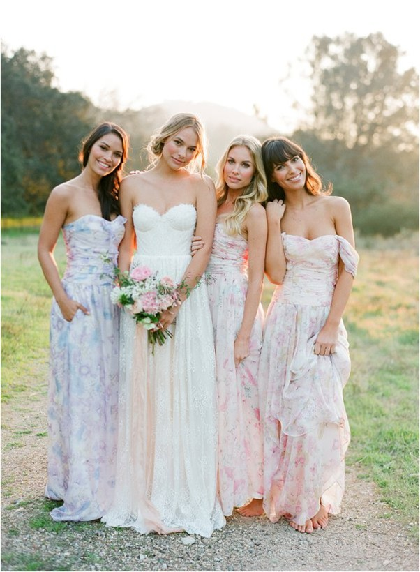 Платье для подружки невесты 2019