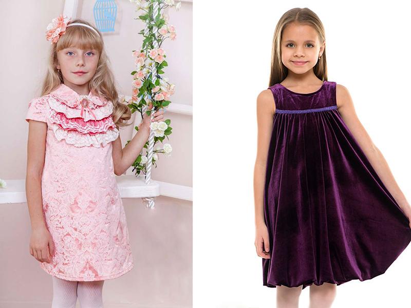 Фасоны детских платьев 4