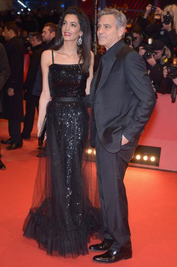 Амаль Клуни с мужем