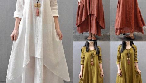 Фасоны платьев в стиле бохо