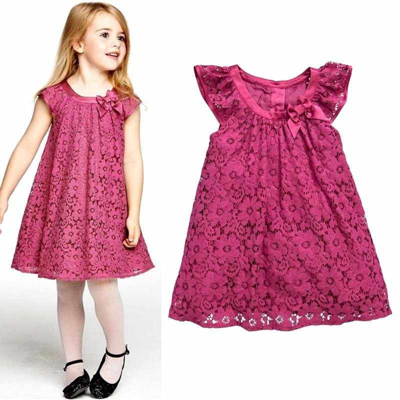Фасоны детских платьев 3
