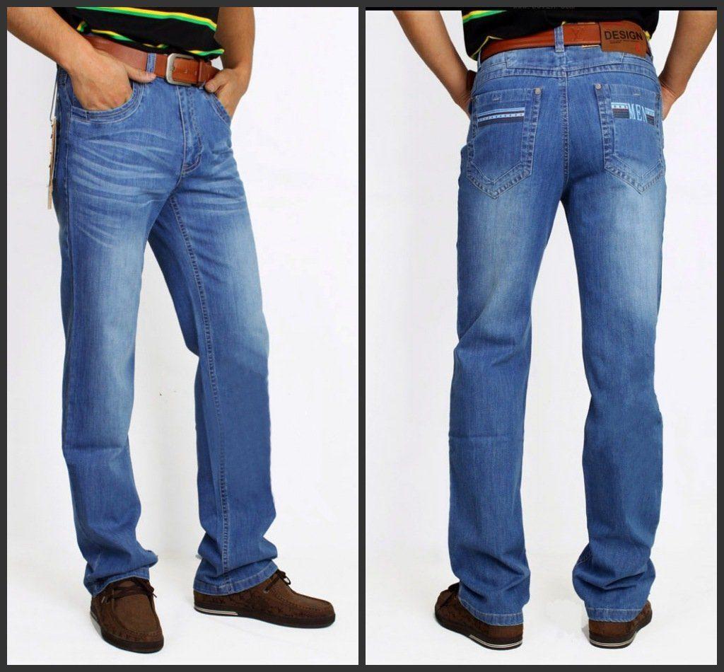 то, что правильно сидят мужские джинсы фото позволит