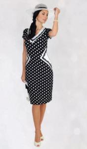 Платье в горошек 2020/2021