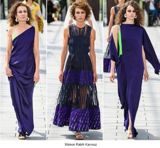 вечерние платья 2020 фиолетовые