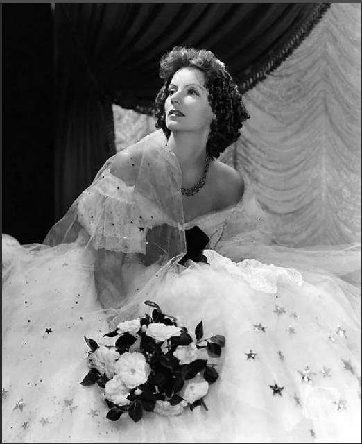 грета гарбо в свадебном платье