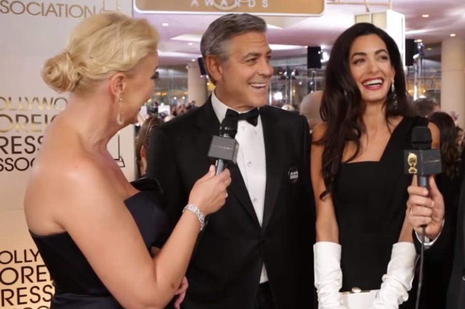 Амаль Клуни с Джоржем