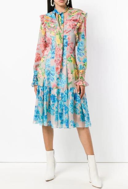 Платья в стиле богема-люкс 2020