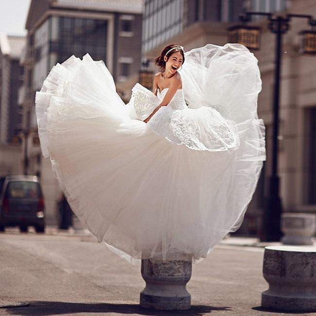 пышные свадебные платья 5