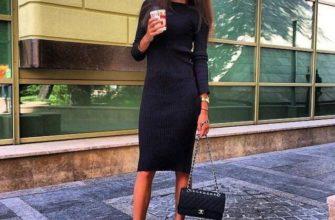 Платье лапша - с чем носить?