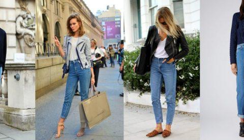 Кому идут джинсы мом