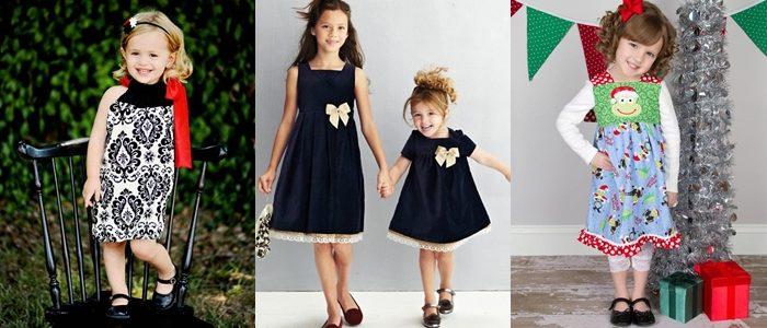 Фасоны детских платьев 2