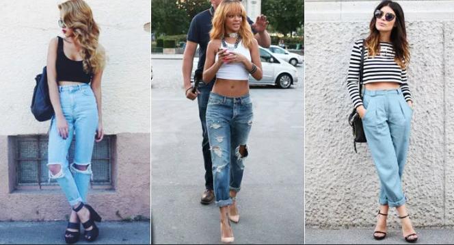 джинсы американки рваные