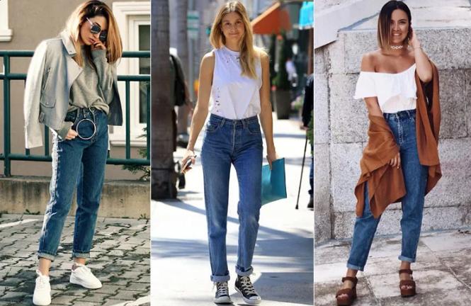 джинсы американки разные