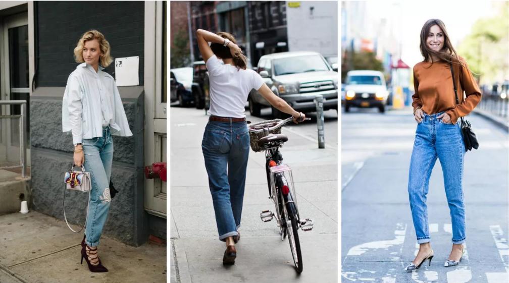 джинсы американки свободные