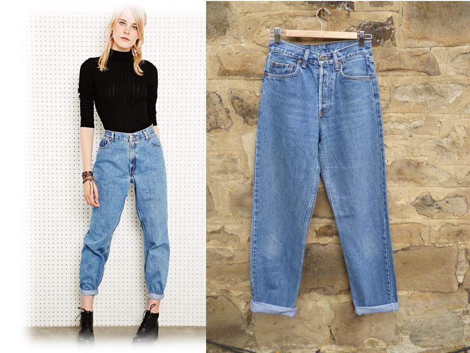 Как должны сидеть мом джинсы 8