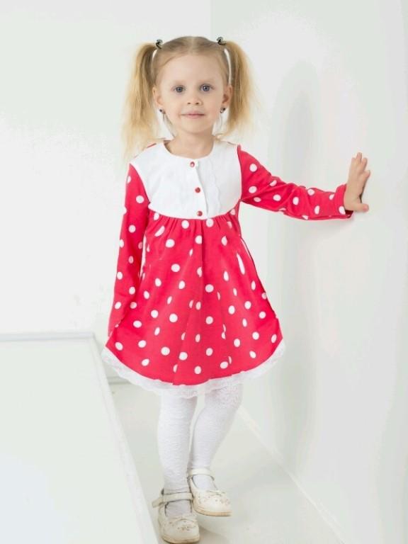 Фасоны детских платьев повседневных 4
