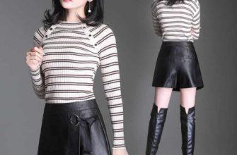 Модные фасоны юбок-шорт в 2019 году