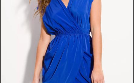 Платье с запахом 2021