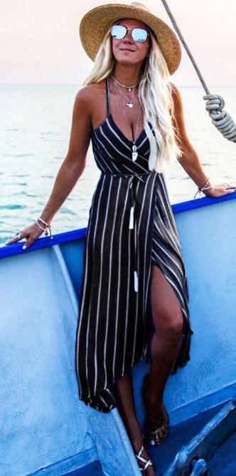 платье с запахом черный цвет