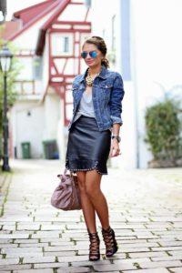 джинсовка с платьем 1