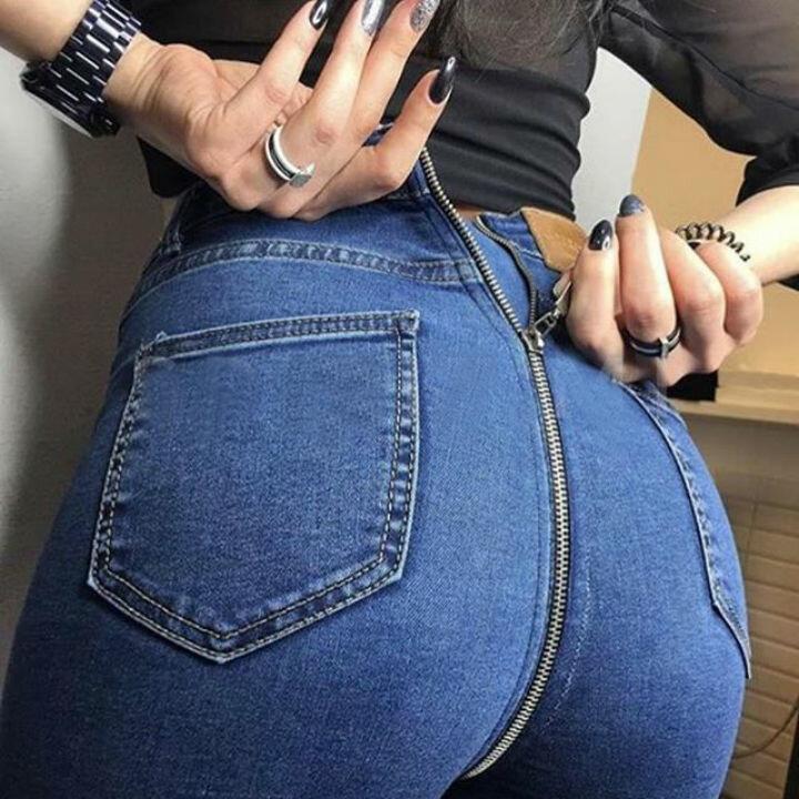 Зачем на джинсах сзади молния 3