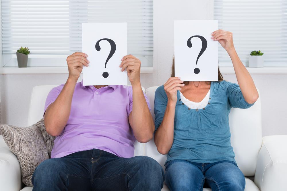 Вопросы, которые нужно задавать супругу перед разрывом