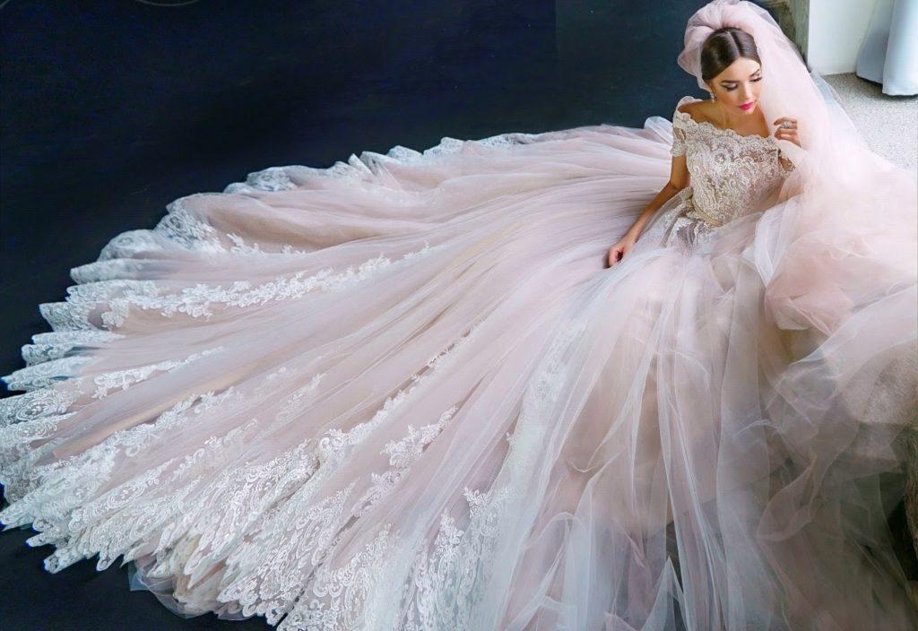 пышные свадебные платья 1