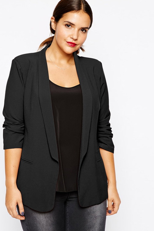 Модели пиджаков смокинг для полных женщин
