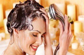 Мытьё головы.